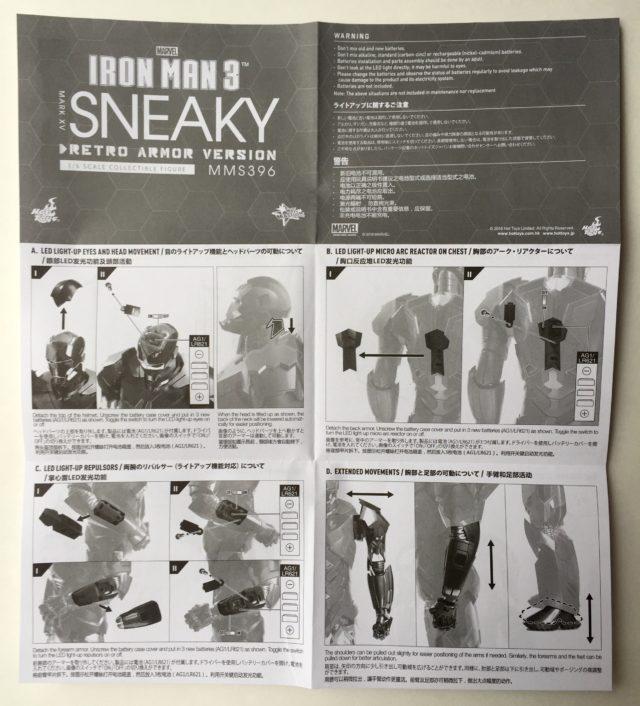 Retro Armor Sneaky Iron Man Instructions
