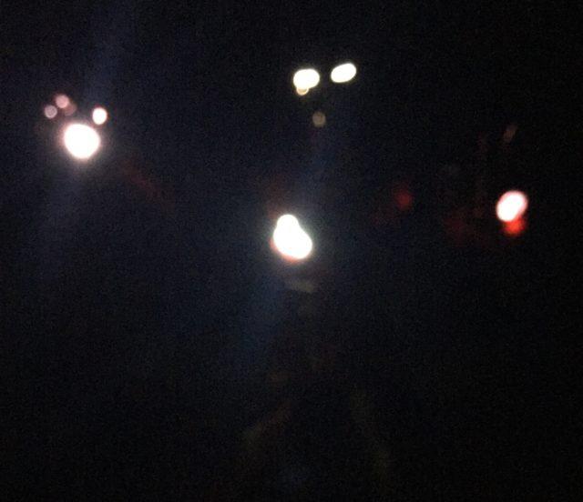Lit Up Hot Toys Iron Man 3 Sneaky Iron Man Mark XV Figure in Dark