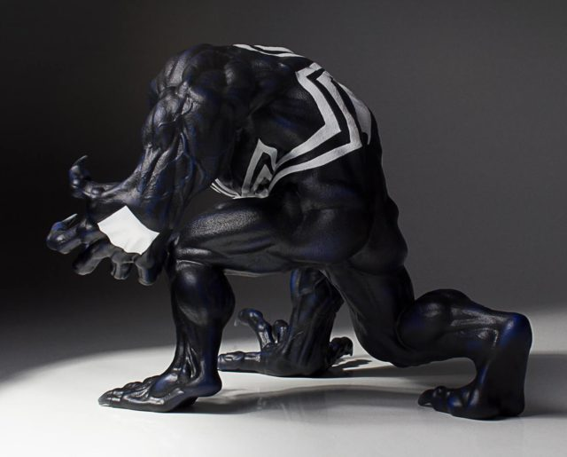 Marvel Collectors Gallery Venom Statue Back
