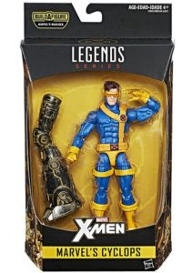 Marvel Legends 2017 Cyclops Figure Packaged Jim Lee