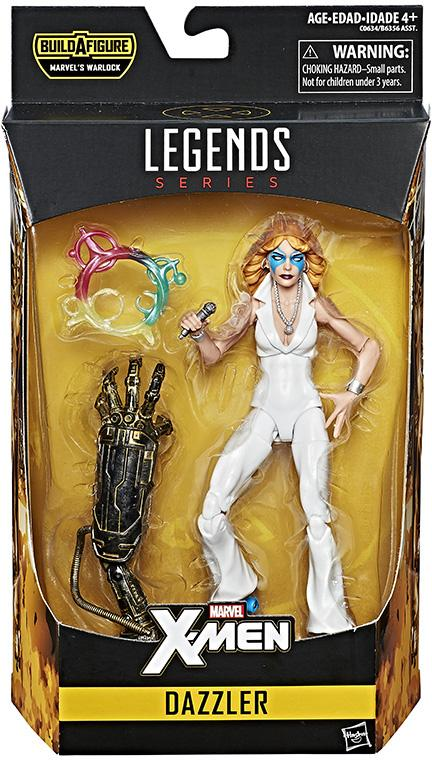 Marvel Legends Dazzler Figure Packaged Hasbro 2017 X-Men