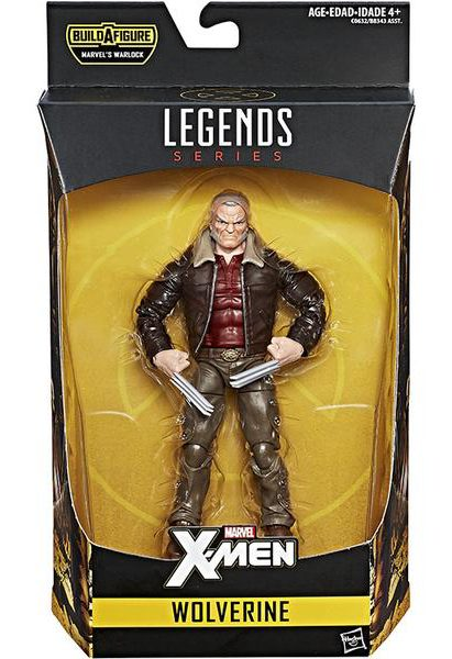 Marvel Legends Old Man Logan Figure Packaged