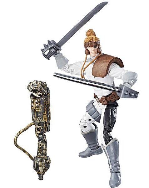 Marvel Legends Shatterstar Figure X-Men Warlock Wave