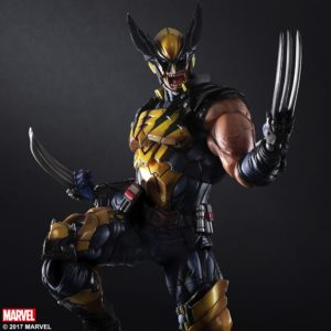 Marvel Play Arts Kai Wolverine Figure Up for Order