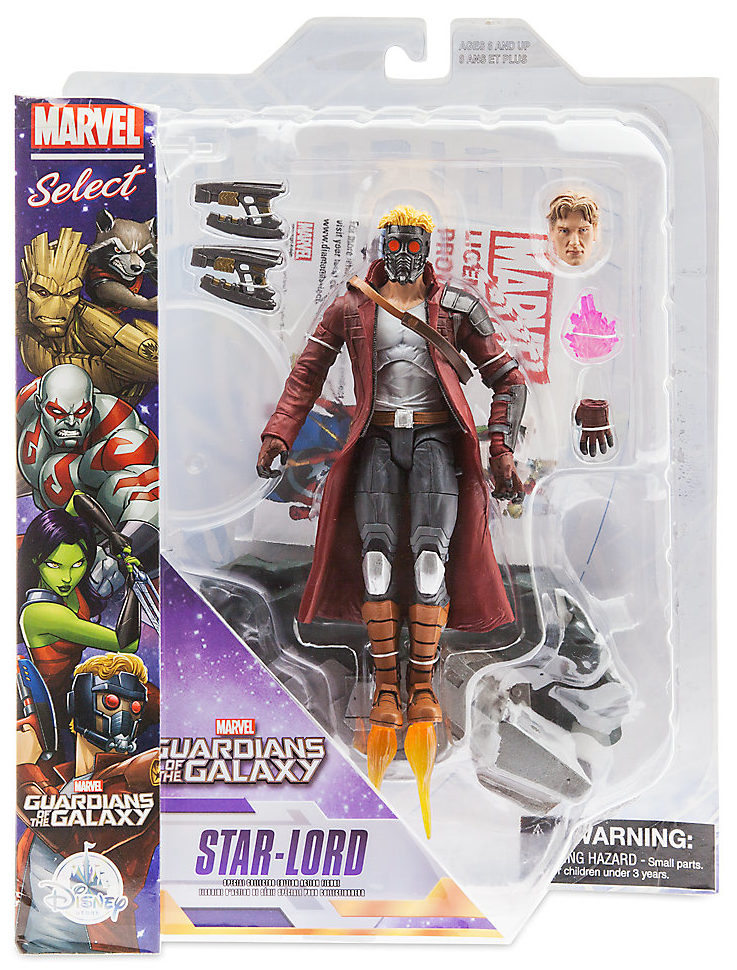 Marvel select guardians of the galaxy figures up for order for Galaxy toys