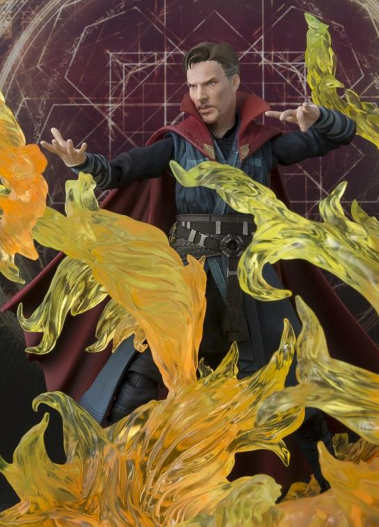 S.H. Figuarts Doctor Strange Figure with Flames Exclusive