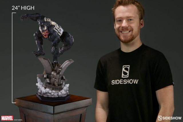 Sideshow Collectibles Premium Format Venom Statue 24 Inches Tall
