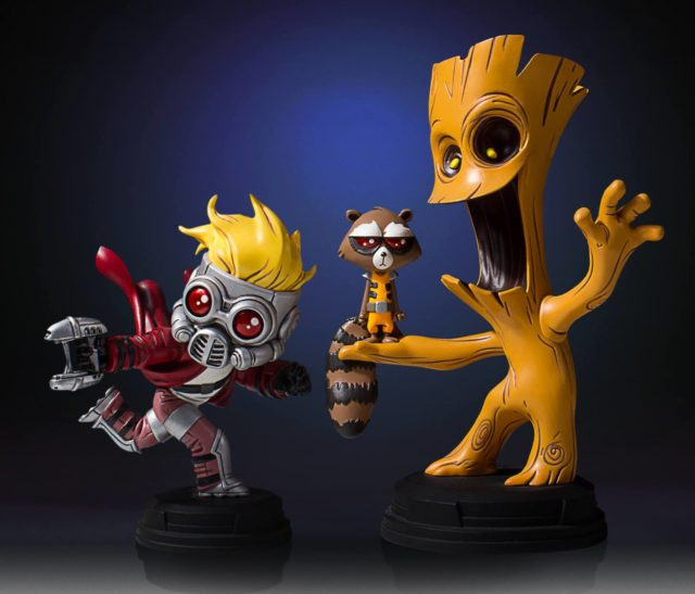 Skottie Young Guardians of the Galaxy Marvel Babies Statues
