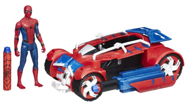 Spider-Man Homecoming Toys Spider-Racer Car