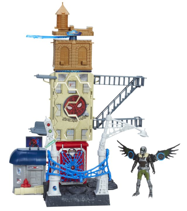 Spider-Man Homecoming Vulture Attack Playset