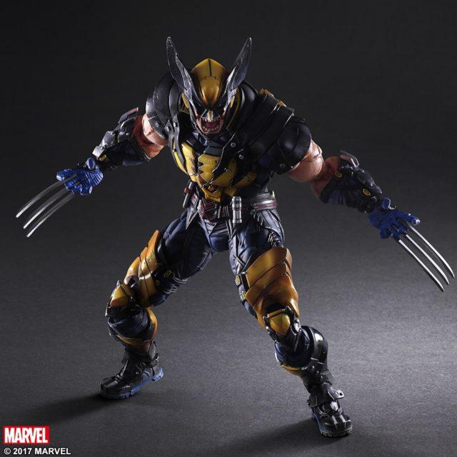 Square-Enix Wolverine Play Arts Kai Variant Figure