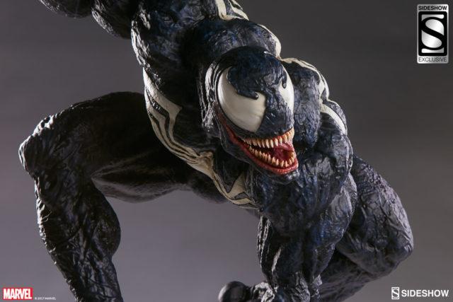 Venom Premium Format Figure Exclusive Classic Venom Head Sideshow Collectibles
