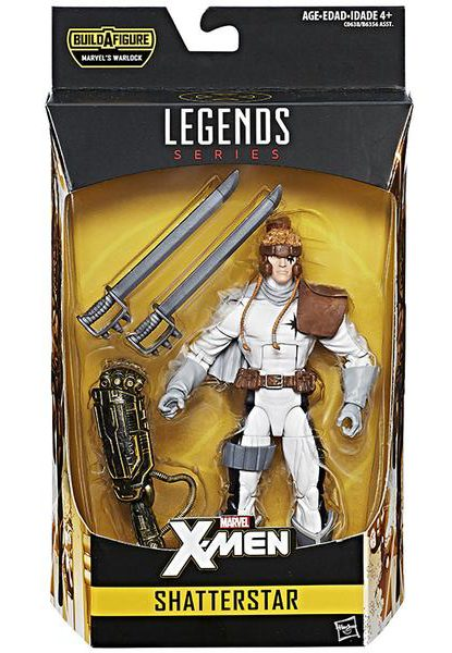 X-Men Legends 2017 Shatterstar Six Inch Figure Packaged