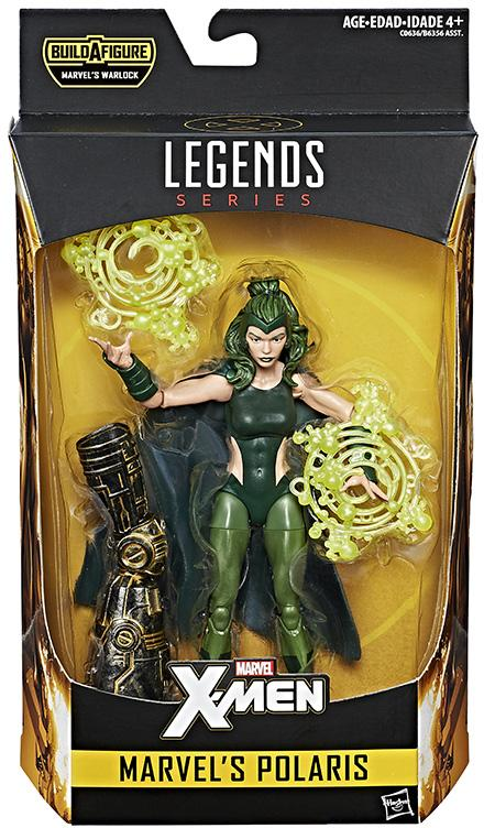 X-Men Marvel Legends Polaris Six Inch Figure Packaged
