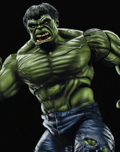 12 Inch Hulk Marvel Legends 2017 Figure Close-Up