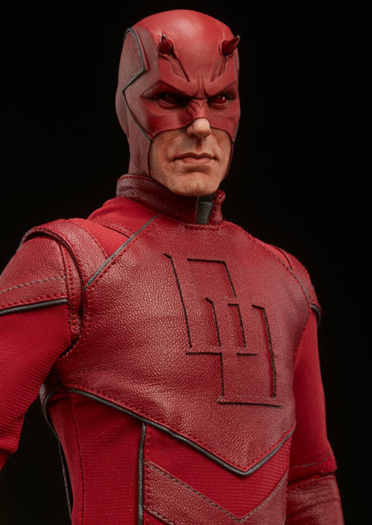 Close-Up of Sideshow Daredevil 12 Inch Figure