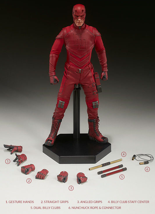 Daredevil Sideshow Sixth Scale Figure and Accessories