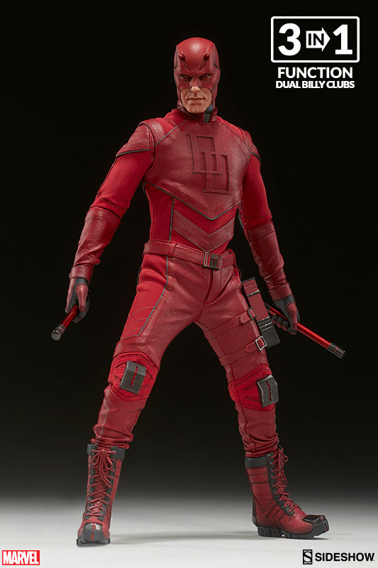 Daredevil Sixth Scale Figure with Dual Billy Clubs