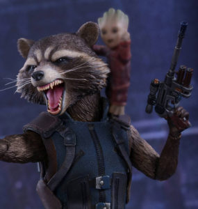 Deluxe Rocket Raccoon Hot Toys GOTG2 Figure Revealed