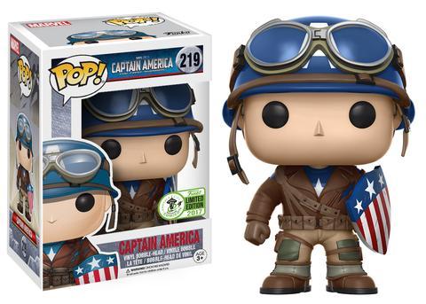 Exclusive Funko Wwii Captain America Pop Vinyls Figure