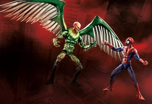 Exclusive Marvel Legends Vulture vs Spider-Man Walmart Two Pack Toy Fair 2017