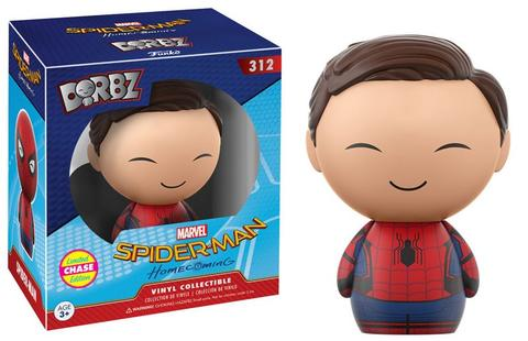 Funko Dorbz CHASE Homecoming Spider-Man Unmasked Vinyl Figure