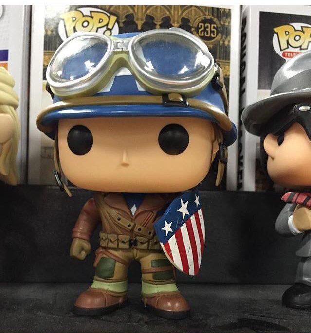 Funko WWII Captain America POP Vinyls Figure Exclusive