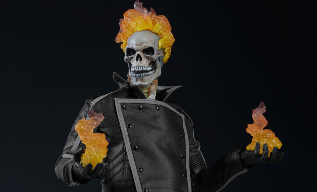 Sideshow Collectibles Exclusive Ghost Rider Figure with Hellfire Hands