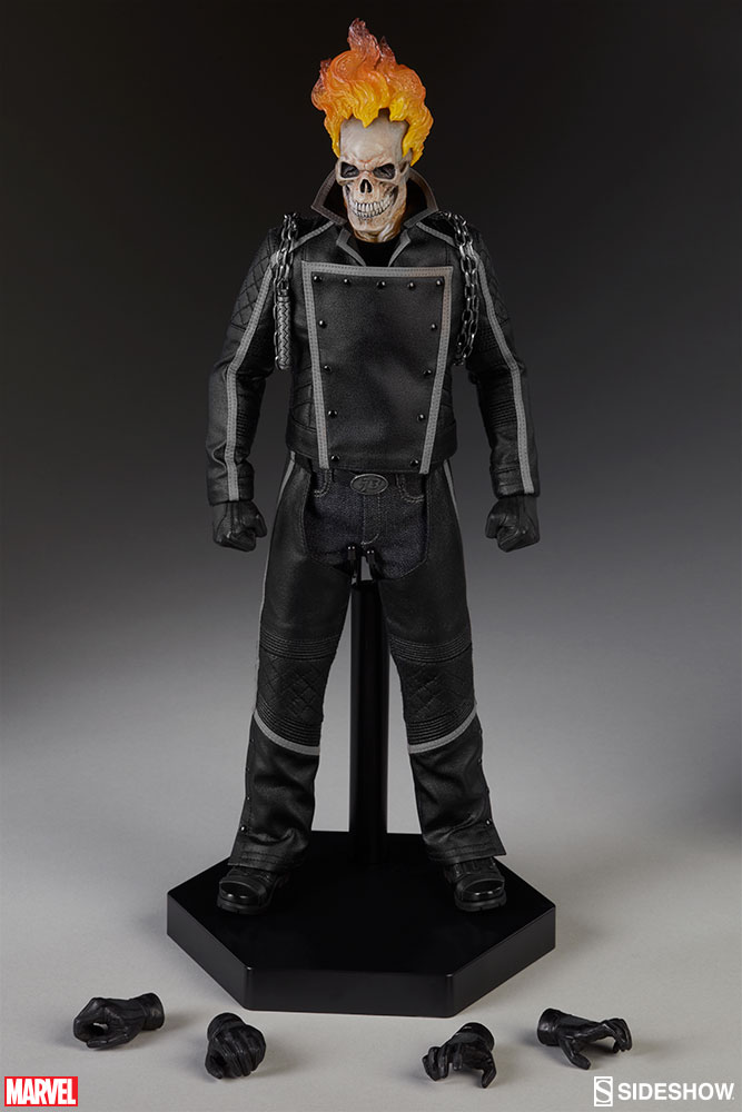 Sideshow exclusive ghost rider sixth scale figure up for order ghost rider sideshow sixth scale figure and accessories solutioingenieria Choice Image