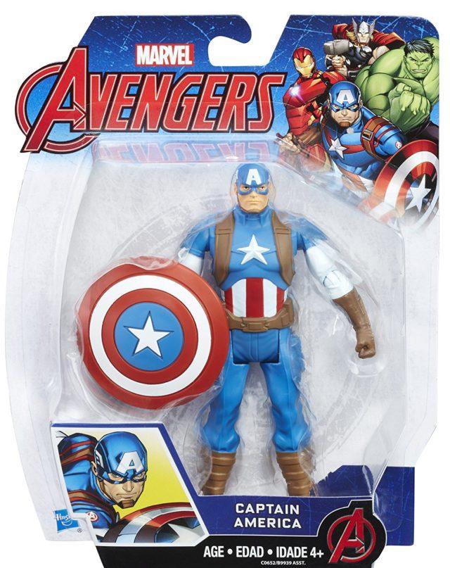 Hasbro 6 Inch Avengers Captain America Figure Packaged