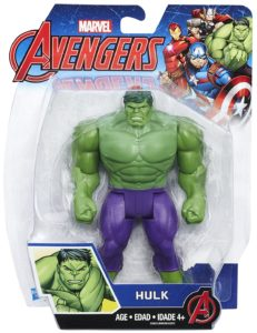 Hasbro Avengers Hulk 6 Inch Figure Basic 2017 Packaged