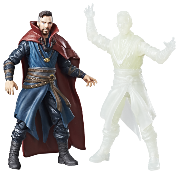 Hasbro Marvel Legends 4 Inch Doctor Strange Figure Two-Pack