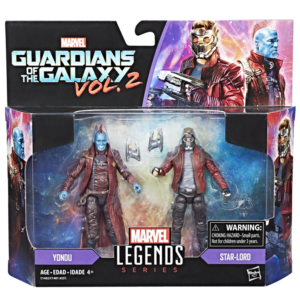 Hasbro Marvel Legends Guardians of the Galaxy 2 Two-Pack Packaged