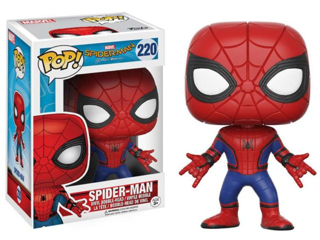 Homecoming Spider-Man POP Vinyl Funko Figure