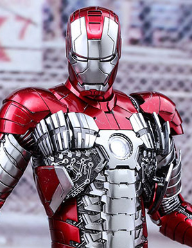 Hot Toys Iron Man Mark V Die-Cast Figure Up for Order ...  Hot Toys Iron M...