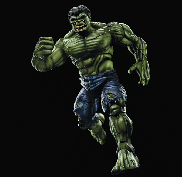 Hulk Marvel Legends 12 Inch Figure Classic Head