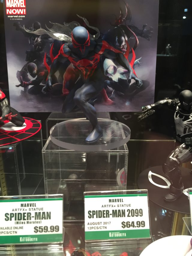 Spider-Man 2099 Kotobukiya ARTFX+ Statue Toy Fair