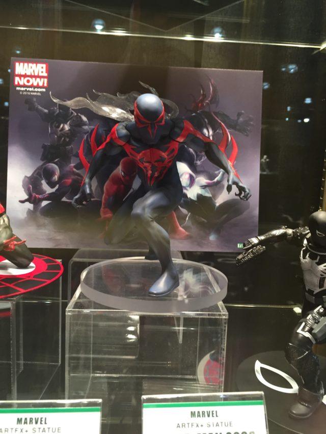 Kotobukiya Spider-Man 2099 ARTFX+ Statue 1/10 Scale Painted Toy Fair