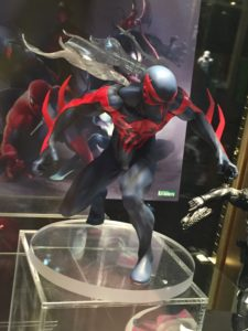 Toy Fair 2017 Kotobukiya Spider-Man 2099 ARTFX+ Statue