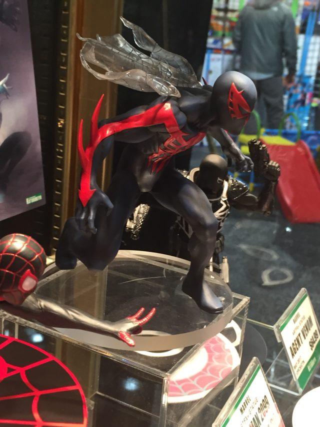Side View of ARTFX+ Spider-Man 2099 Kotobukiya Statue