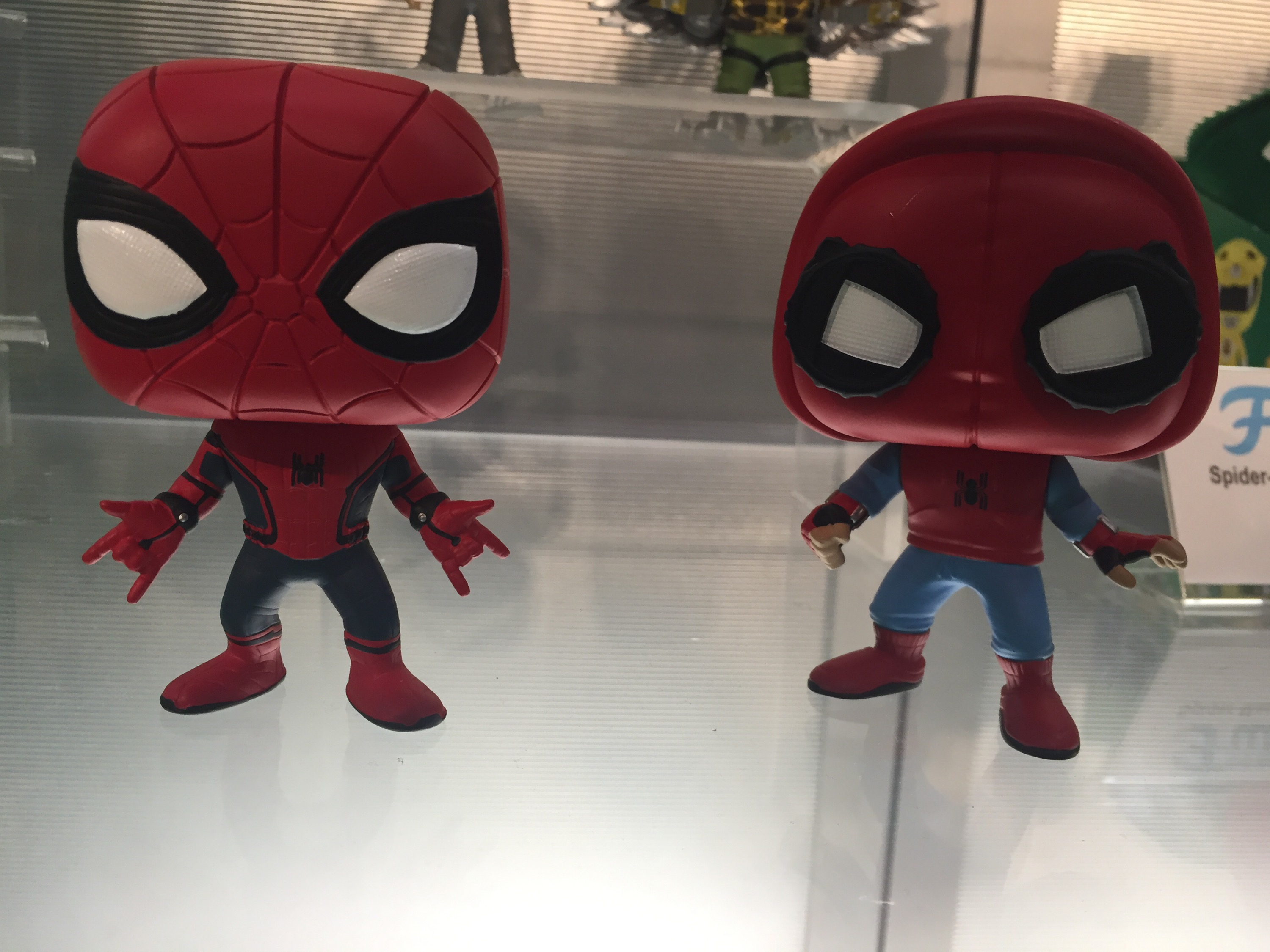 Toy Fair Funko Spider Man Homecoming Pop Vinyls Marvel