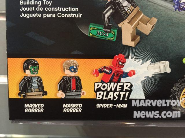 LEGO 76082 Minifigures Spider-Man Masked Robbers ATM Heist Battle