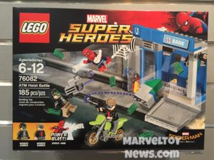 LEGO Spider-Man Homecoming ATM Bank Heist Battle Set Box