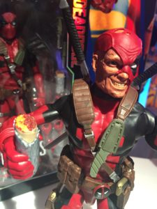 "12"" Marvel Legends Deadpool Figure with Chimichanga Burrito"