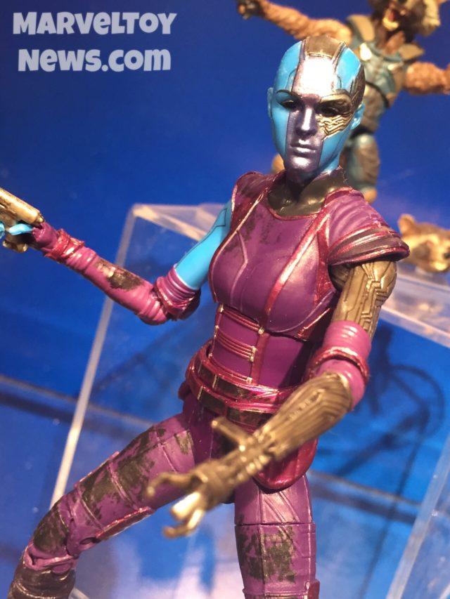 Marvel Legends Nebula Figure Close-Up