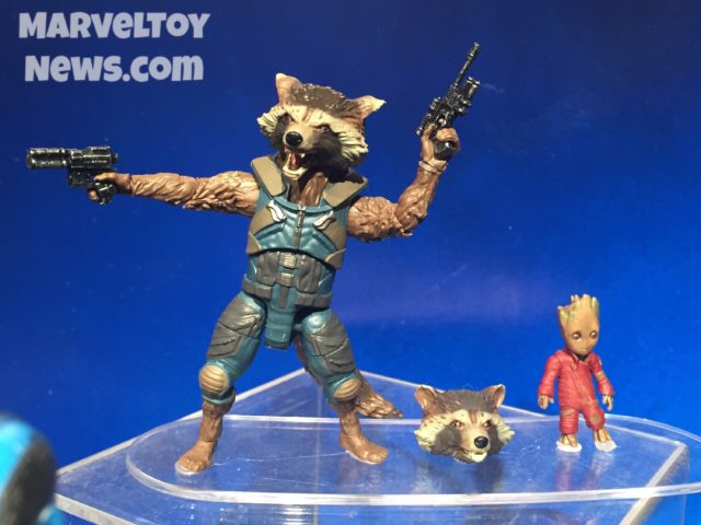 Guardians of the Galaxy 2 Marvel Legends Baby Groot and Rocket Raccoon Figures
