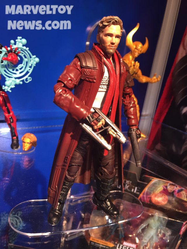 Marvel Legends Guardians of the Galaxy Wave 2 Star-Lord Figure