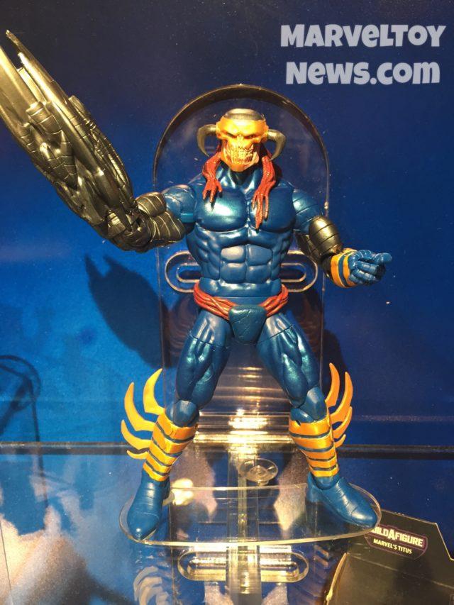 Toy Fair 2017 Marvel Legends Death's Head II Figure