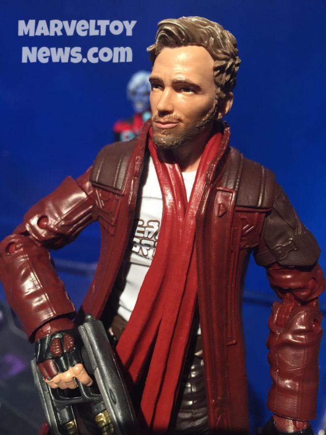 Marvel Legends GOTG Wave 2 Star-Lord Chris Pratt Head