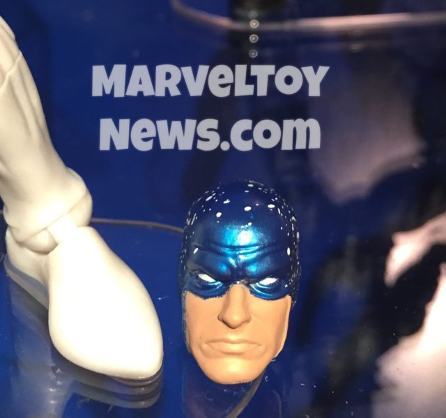 Close-Up of Cosmic Spider-Man Alernate Head Toy Fair 2017